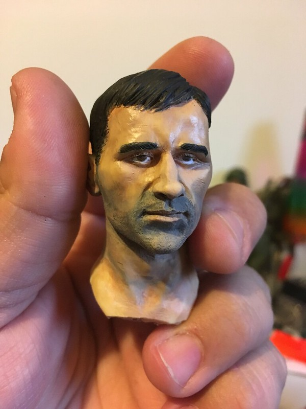 [WIP] First Tony Barton head sculpt repaint. 43324063892_af049b5751_c
