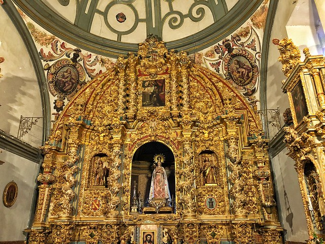 Retablo de la Virgen del Espino (Liétor, Sierra del Segura)