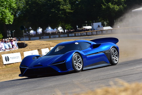 Peter Dumbreck, NIO EP9, Goodwood Festival of Speed 2018