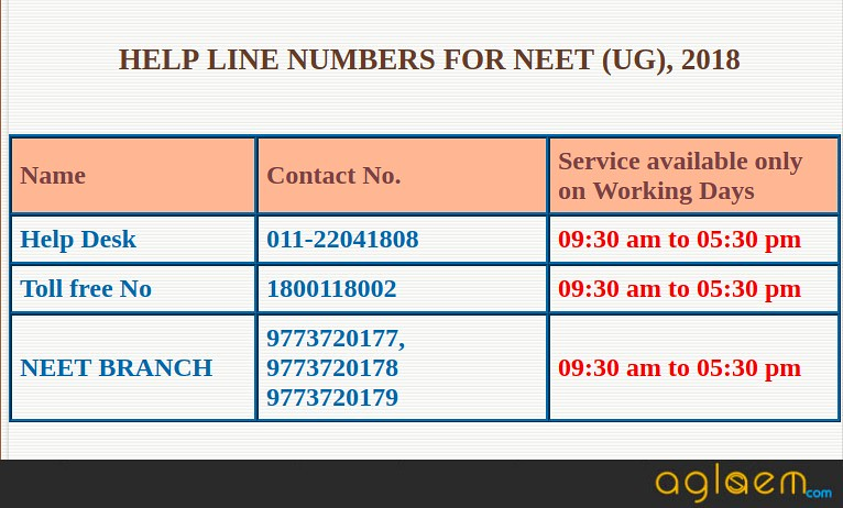 NEET 2018 Admit Card Available: Download Here NEET Hall Ticket