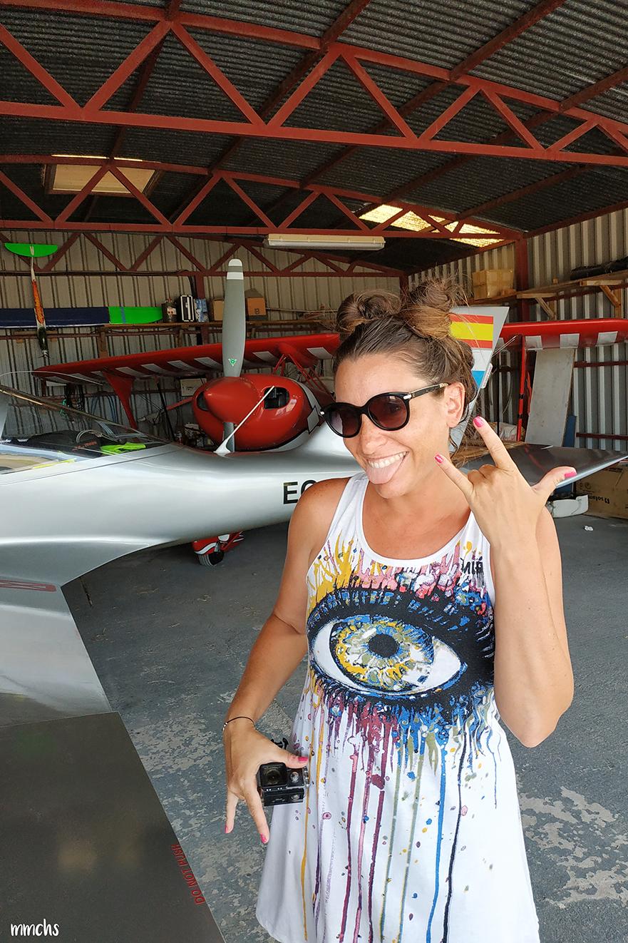 vuelo en ultraligero aeroclub de Castellón