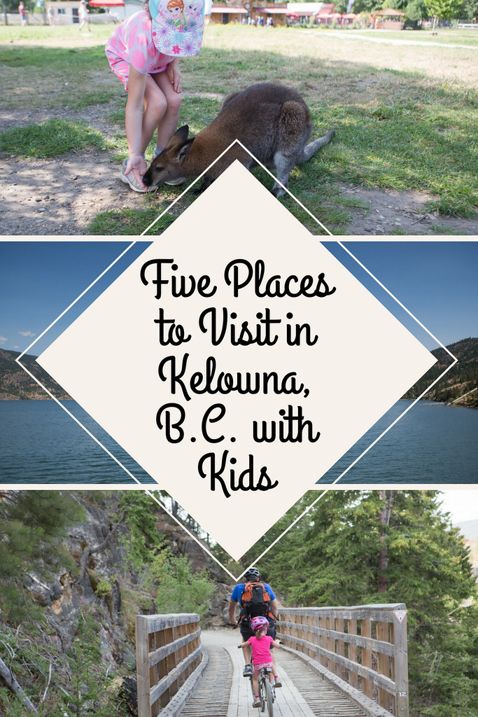 Have you thought of taking a family vacation to Kelowna? Here are the top five places I recommend doing there if you have kids.