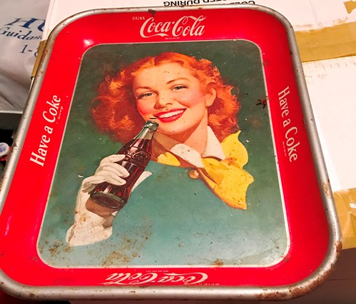 1950s Coca Cola tray | by thornhill3