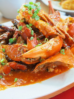 Sweet and Sour Crab at Pangkor Seafood Village,Taman Megah | by huislaw