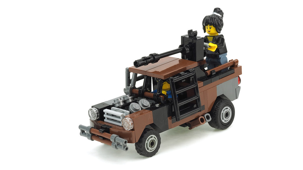 Post Apocalypse Pickup Truck Building Instructions Youtube Flickr
