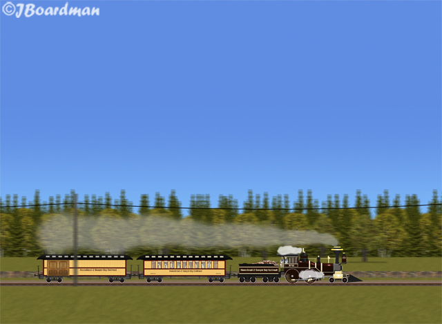 Adventure Train™ just south of Danger Bay ©JBoardman