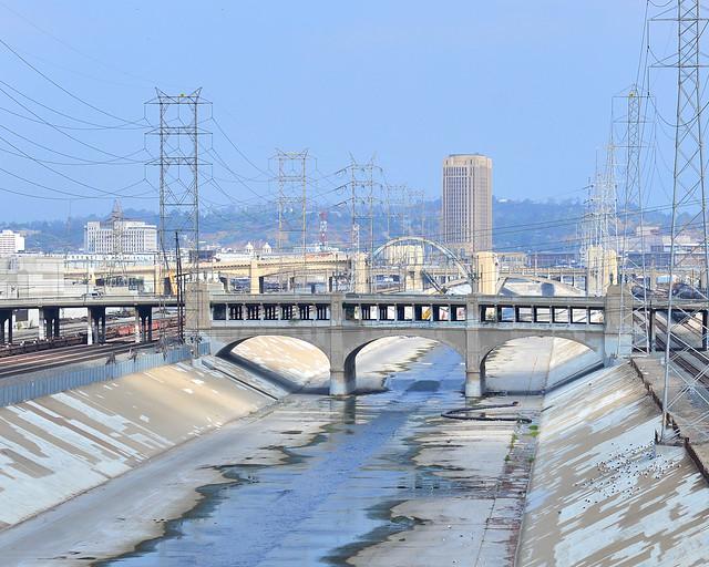 Canales de Los Angeles River donde se rodó Grease