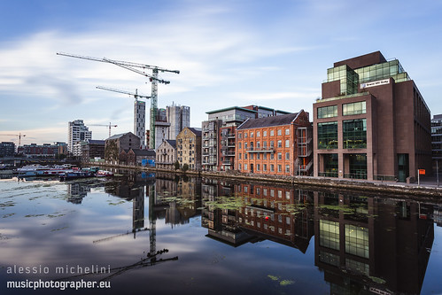 Grand Canal Dock, Dublin, Ireland | by darkmavis