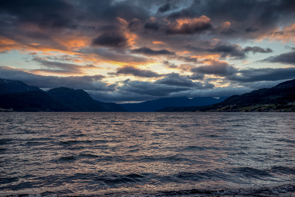 After A Beautiful Day Sandane At Norway Flickr