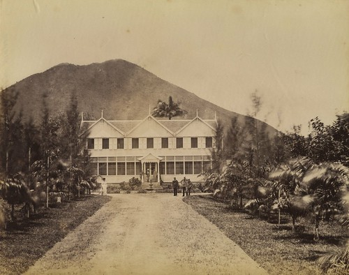 Shadwell House, St Kitts, ca 1870 | by The Caribbean Photo Archive