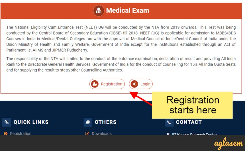NEET 2019 Application Form   Apply Online For NTA NEET From 1 Nov