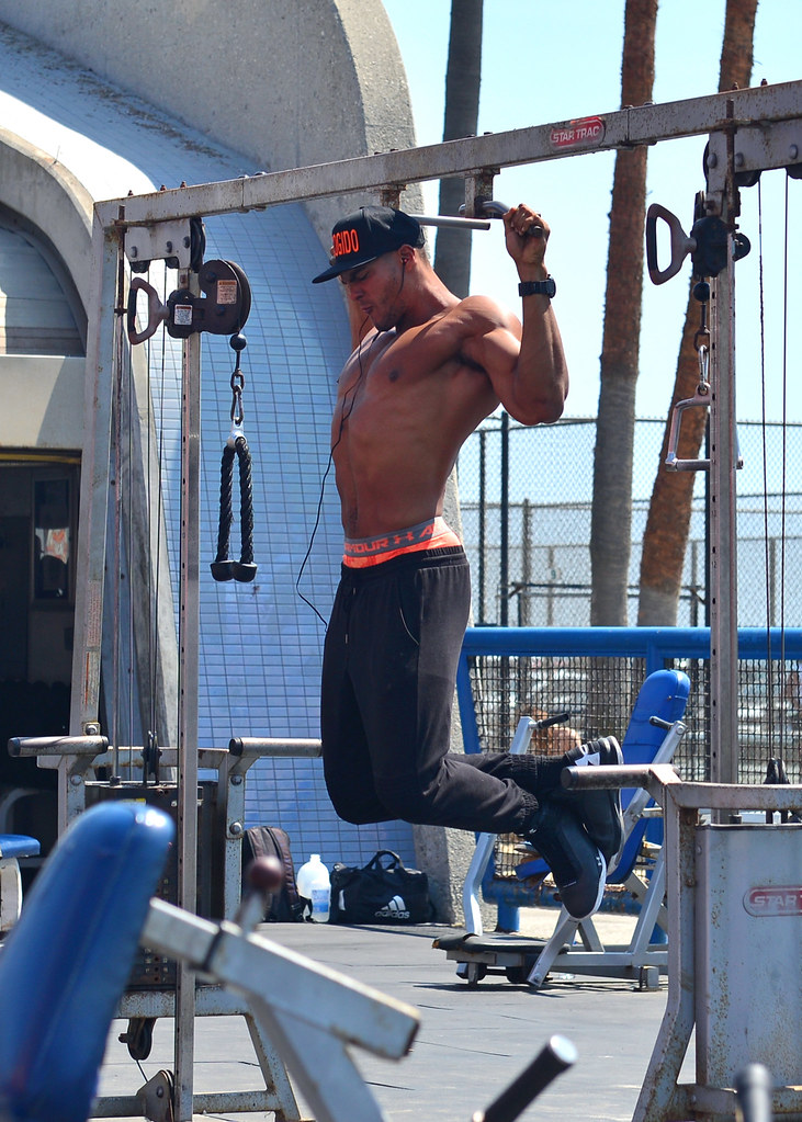 Muscle Beach en Los Angeles