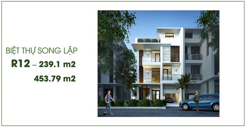 Biệt thự song lập Villa Park Passion R12