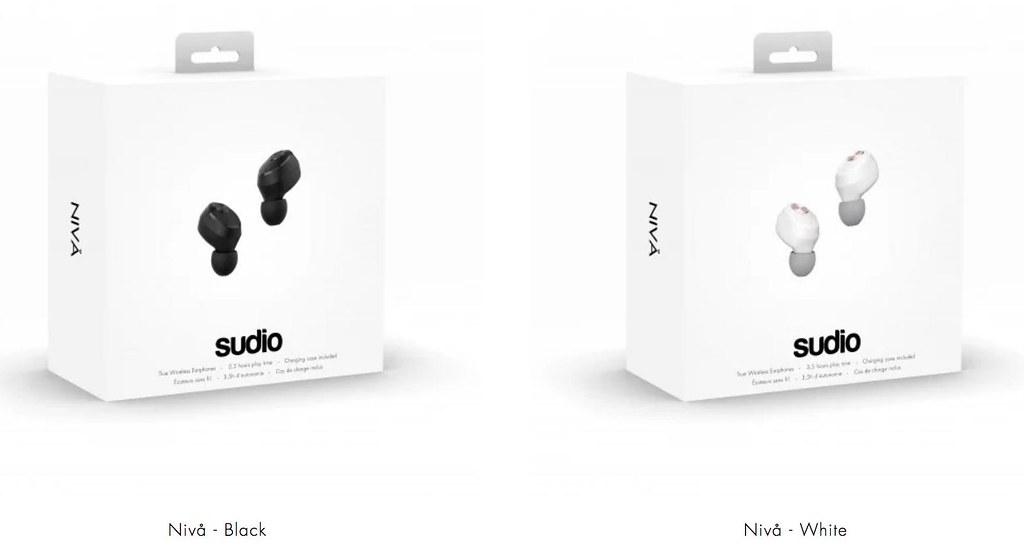 sudio Nivå wireless earphones - 15% off promo code - Alvinology