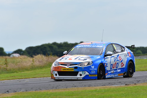 Rory Butcher, MG6, British Touring Car Championship, Croft 2018