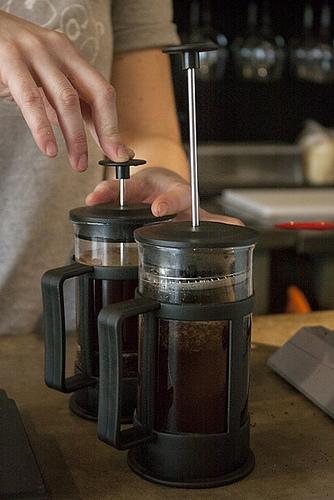 Fotografia em Palavras: Preparo do café