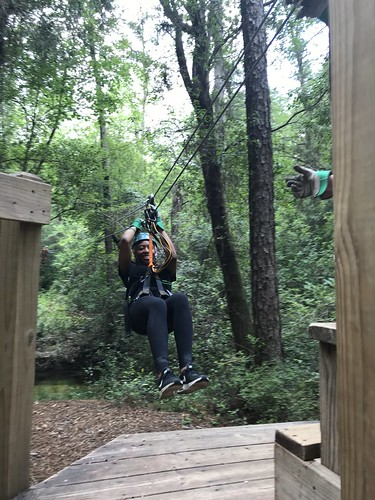 Zipline at Adventures Unlimited Outdoor Center in Milton, Santa Rosa County, Fla., May 2018 | by JenniferHuber