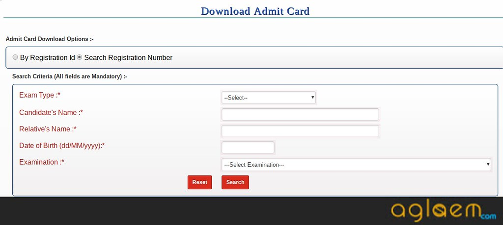 CG PET Admit Card 2019