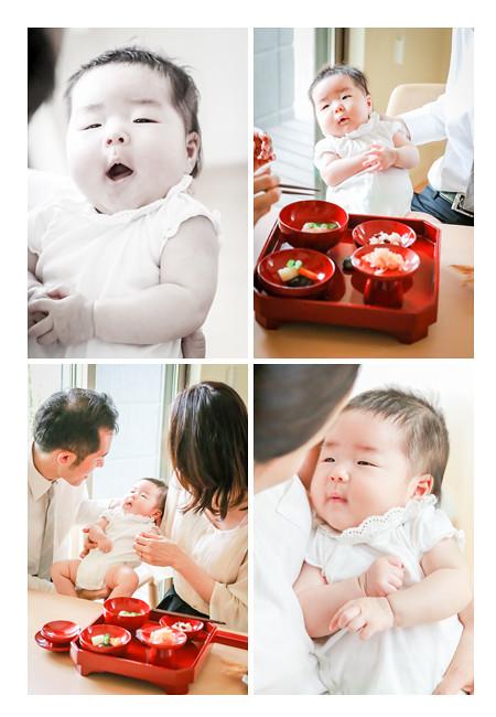 ご自宅でお食い初め(100日祝い)・ママの手づくり膳❤名古屋市瑞穂区