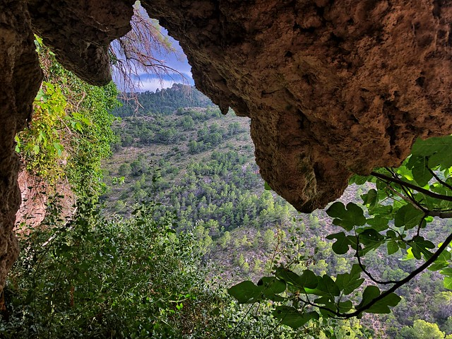 Paisaje de la Sierra del Segura de Albacete (Liétor)