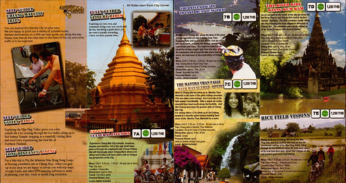 Brochure Chiang Mai Mountain Biking & Kayaks City Tour 2