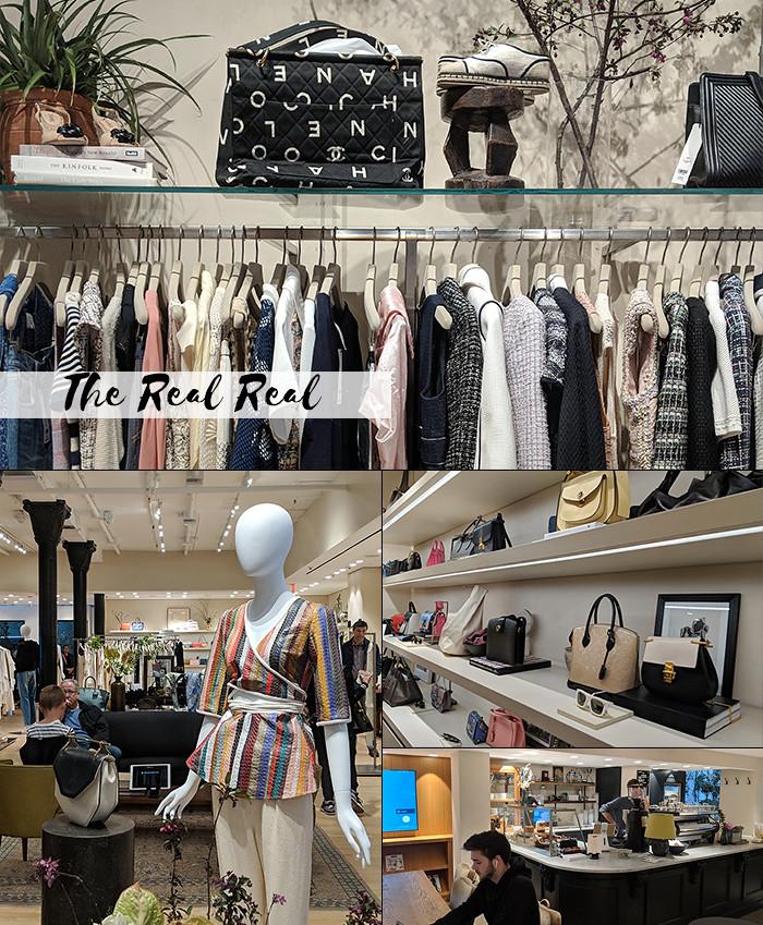 294d6c2e9b0 The Real Real – É uma loja de consignação especializada em artigos de luxo.  E o que me chamou mais a atenção neste que podemos chamar de brechó de luxo  é ...