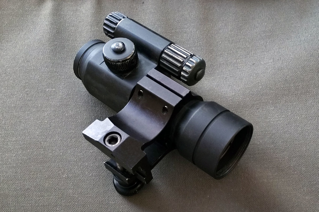 Aimpoint Comp M2 Red Dot Optic W Wilcox Mk18 Comp Mount