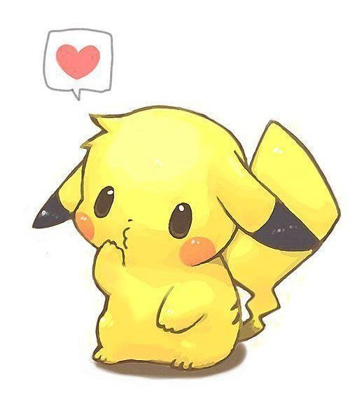 pikachu Pokemon cute