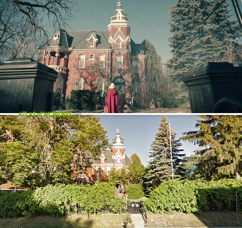 Locations for The Handmaid's Tale