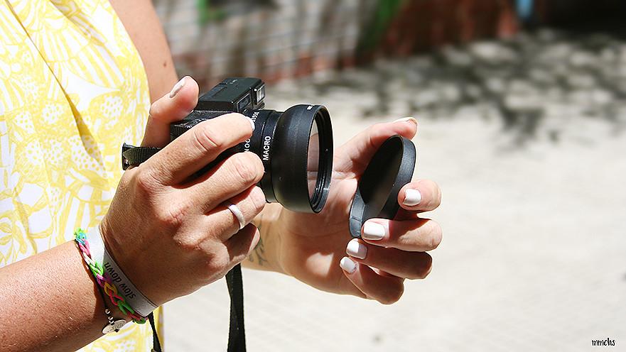 cámara digital Gearbest amkov macro