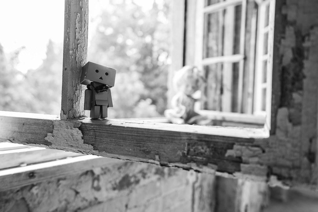 Wishful thinking in an old window-frame . | . Happy Window… | Flickr