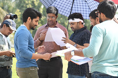 Working stills