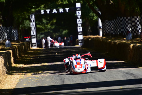 Ben & Tom Birchall, LCR-Honda 600, Goodwood Festival of Speed 2018