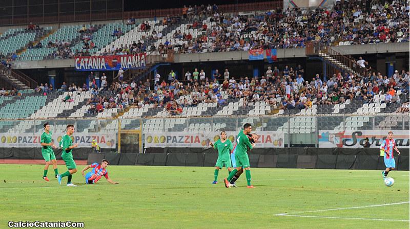 Coppa Italia, Catania-Como 3-0: Lodi, Rossetti e Curiale firmano la qualificazione