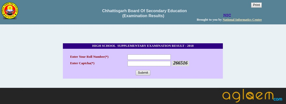 CGBSE 10th Supply Result 2018