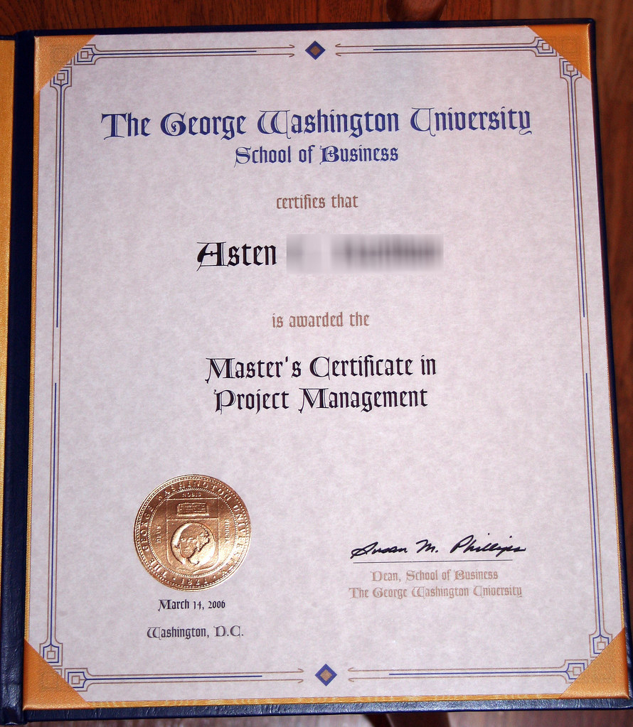Masters Certificate I Finally Got The Masters Certificat Flickr