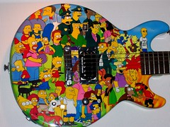 Anthrax Guitarist's Simpsons Guitar | by dannycohen62