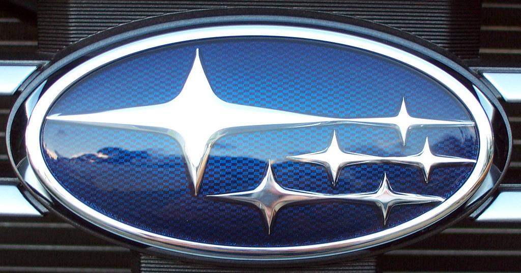 Subaru Logo Dale Gillard Flickr