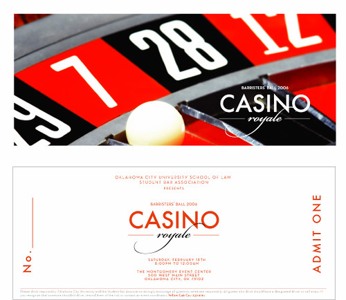 Casino Royale - OCU Barristers' Ball Invitation | Large ...