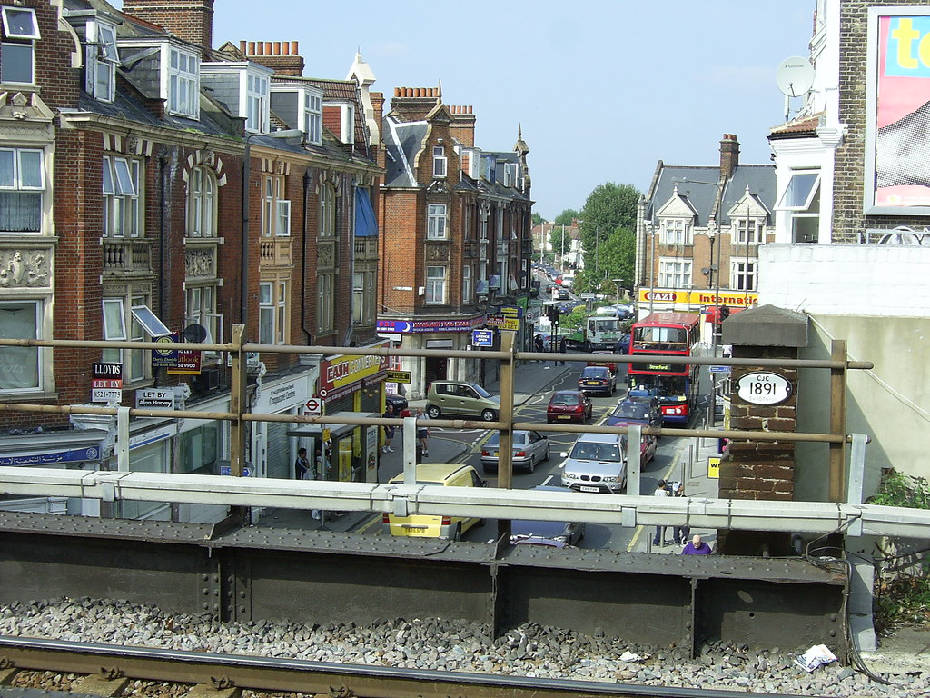 St James's Street, Walthamstow | Viewed from the station ...