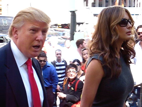 Donald Trump & Melania | by Boss Tweed