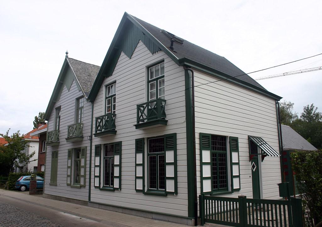 Houten huizen mortsel van de vele houten huizen die morts flickr - Huizen van de wereldbank ...