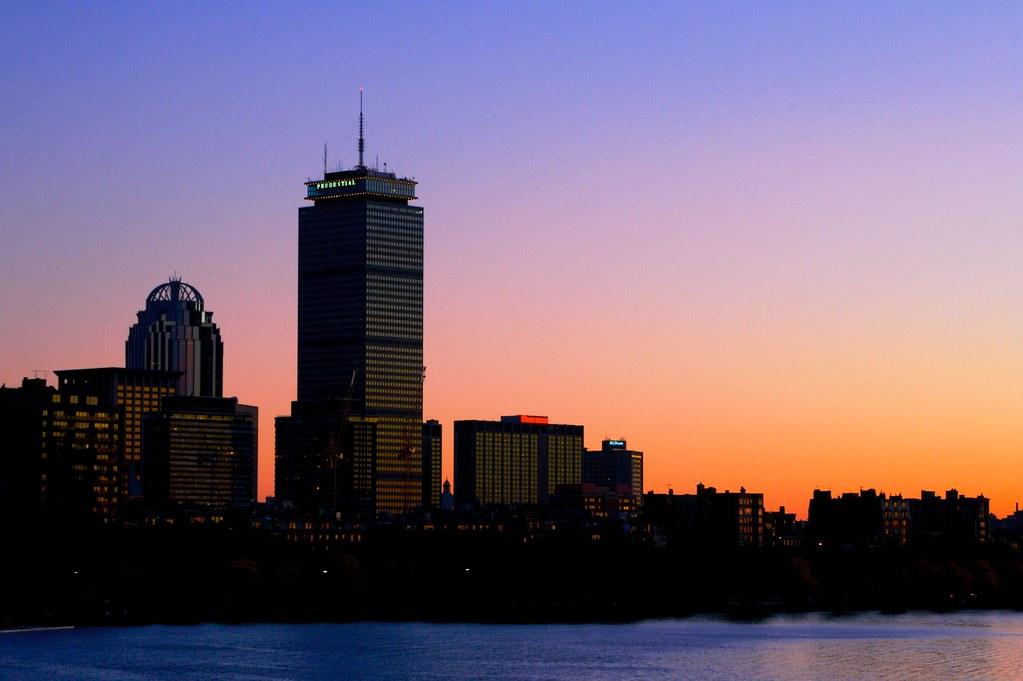 Image result for Boston Sunset