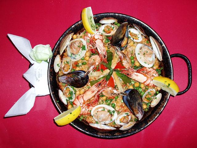 #5230 main course: paella