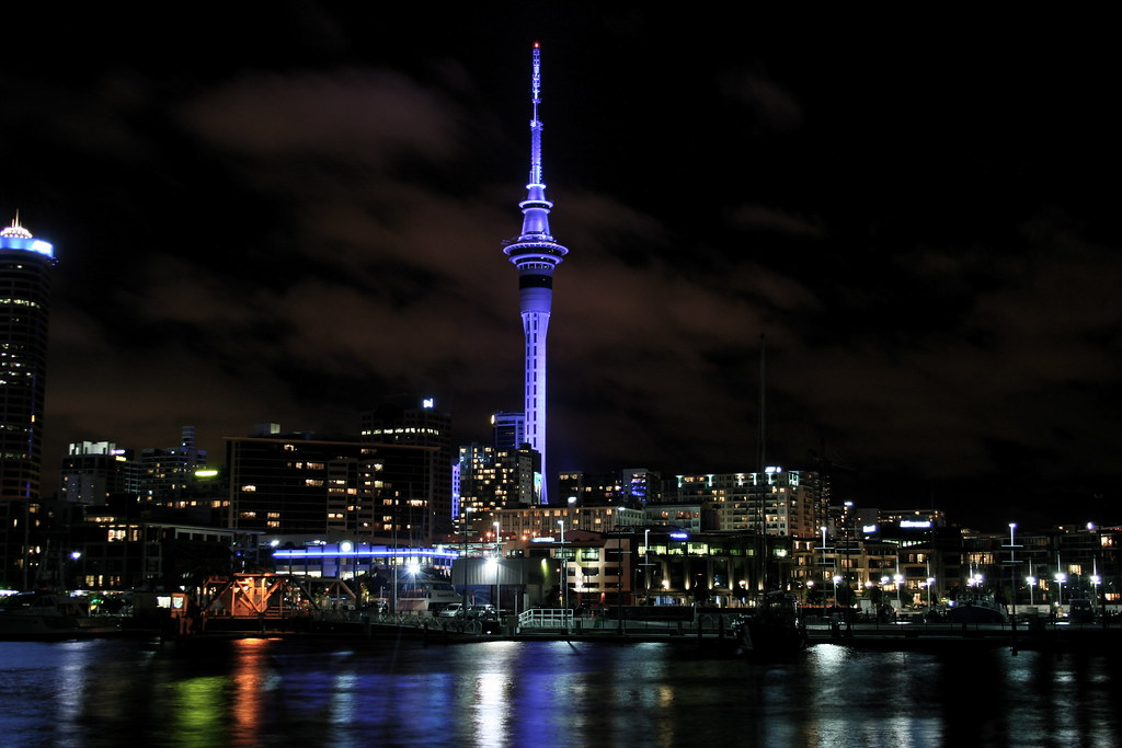 Sky Tower Height Sky Tower Auckland | by