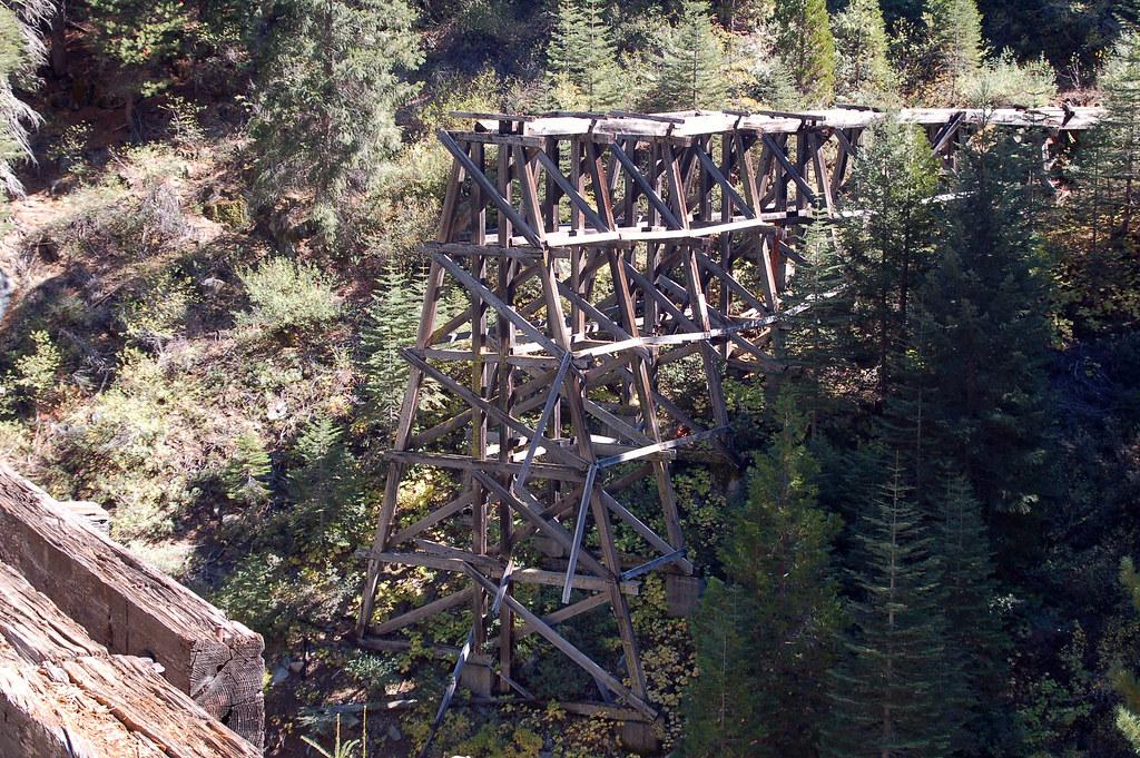 The Trestle Abandoned Logging Railroad Trestle In