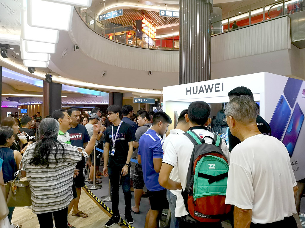 Over 1,000 HUAWEI nova 3i phones sold within an hour on first day of sale - Alvinology