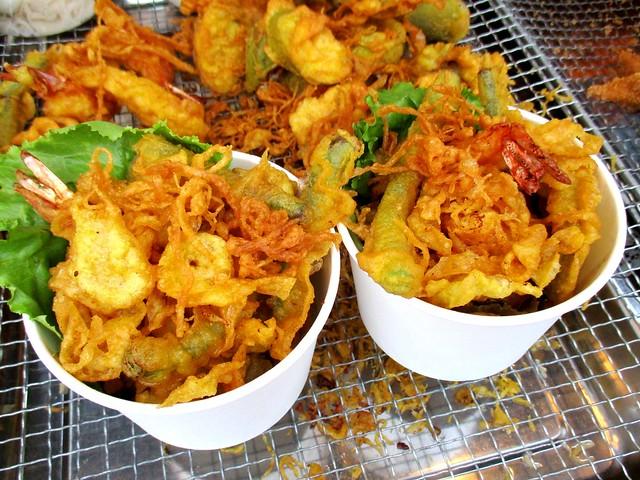 Tempura seafood