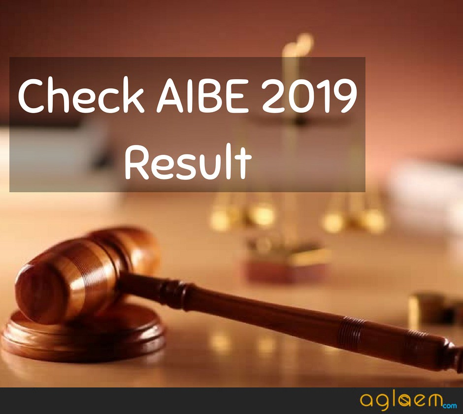 AIBE 2019 Result