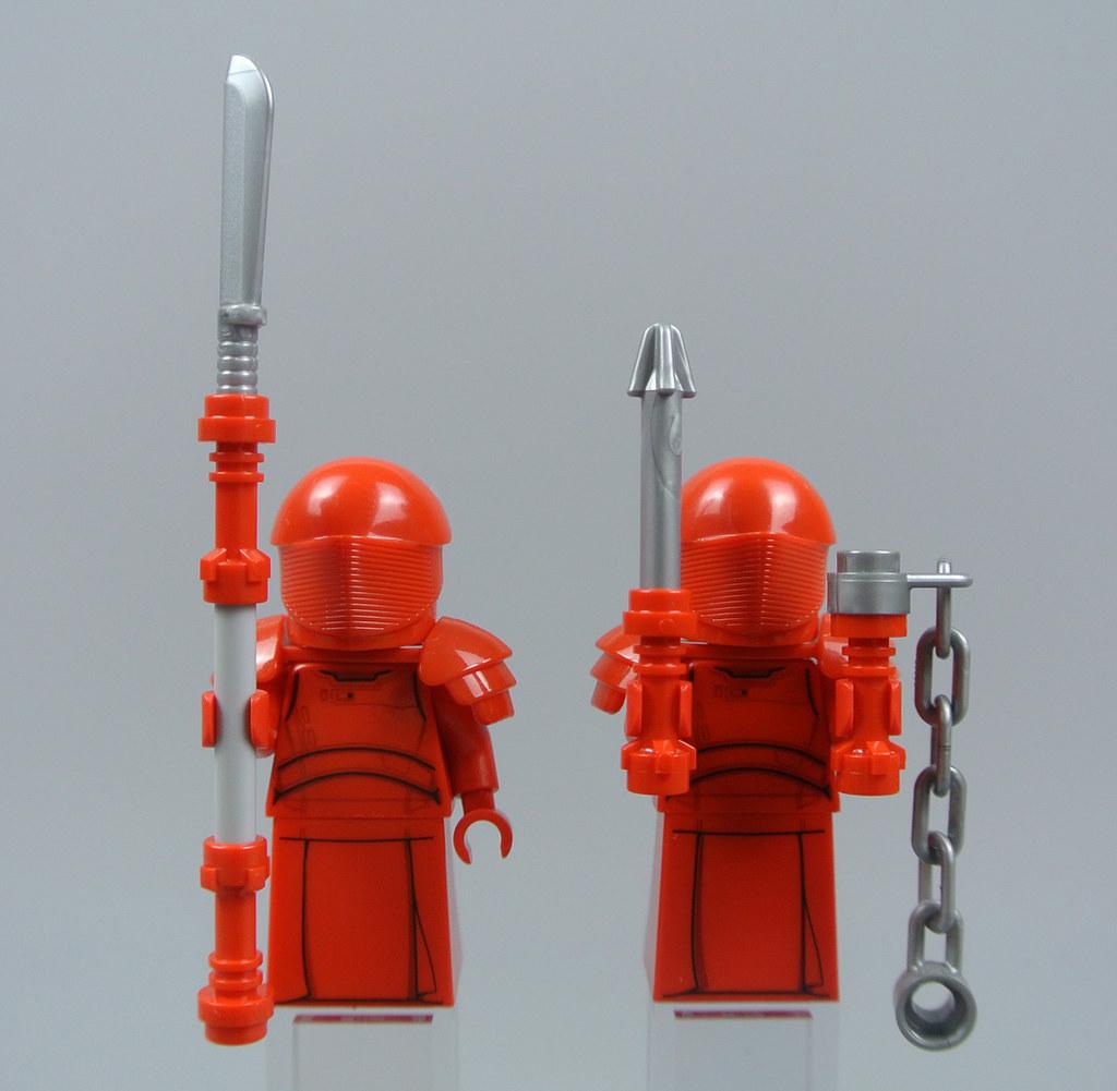 Knife Staff Ninja Minifig Weapon NEW Lego Ninjago Samurai X Red SPEAR OF FIRE